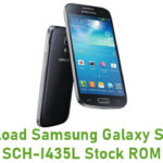 Samsung Galaxy S4 Mini SCH-I435L Stock ROM