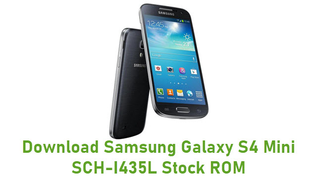 Download Samsung Galaxy S4 Mini SCH-I435L Stock ROM