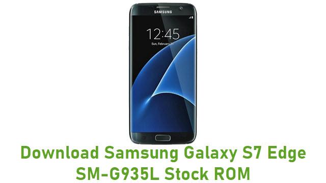 Download Samsung Galaxy S7 Edge SM-G935L Stock ROM