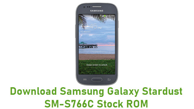 Download Samsung Galaxy Stardust SM-S766C Stock ROM