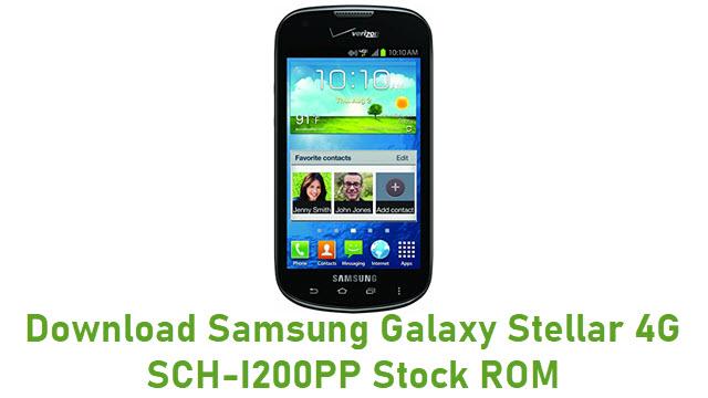 Download Samsung Galaxy Stellar 4G SCH-I200PP Stock ROM