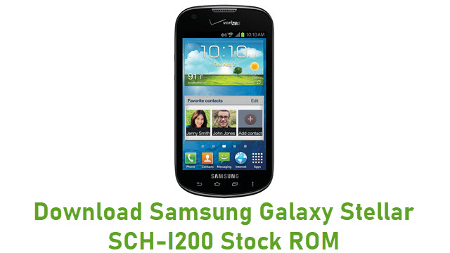 Download Samsung Galaxy Stellar SCH-I200 Stock ROM
