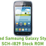 Samsung Galaxy Style Duos SCH-I829 Stock ROM