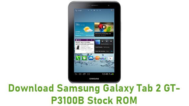 Download Samsung Galaxy Tab 2 GT-P3100B Stock ROM