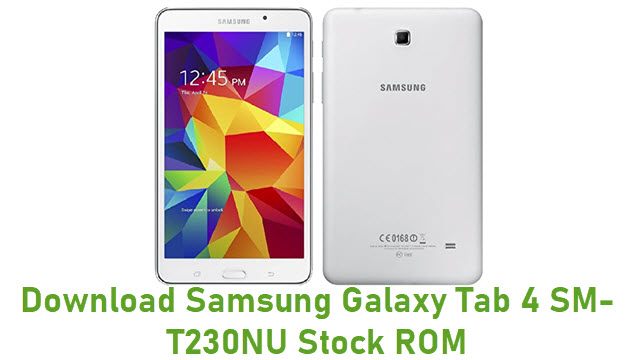 Download Samsung Galaxy Tab 4 SM-T230NU Stock ROM