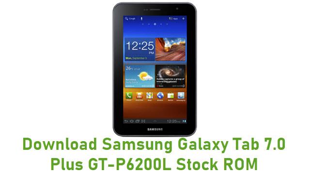 Download Samsung Galaxy Tab 7.0 Plus GT-P6200L Stock ROM