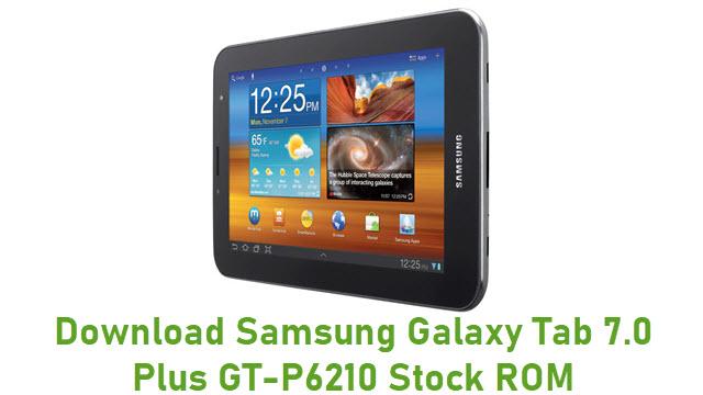 Download Samsung Galaxy Tab 7.0 Plus GT-P6210 Stock ROM