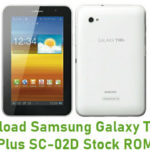 Samsung Galaxy Tab 7.0 Plus SC-02D Stock ROM