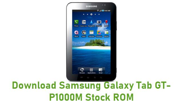 Download Samsung Galaxy Tab GT-P1000M Stock ROM