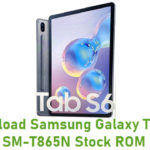 Samsung Galaxy Tab S6 SM-T865N Stock ROM