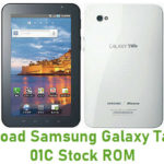 Samsung Galaxy Tab SC-01C Stock ROM