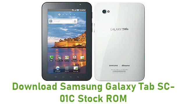 Download Samsung Galaxy Tab SC-01C Stock ROM