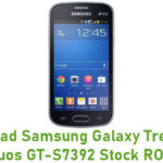 Samsung Galaxy Trend Lite Duos GT-S7392 Stock ROM