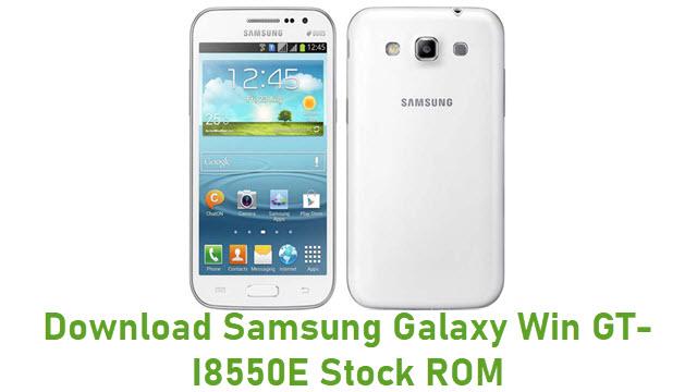 Download Samsung Galaxy Win GT-I8550E Stock ROM