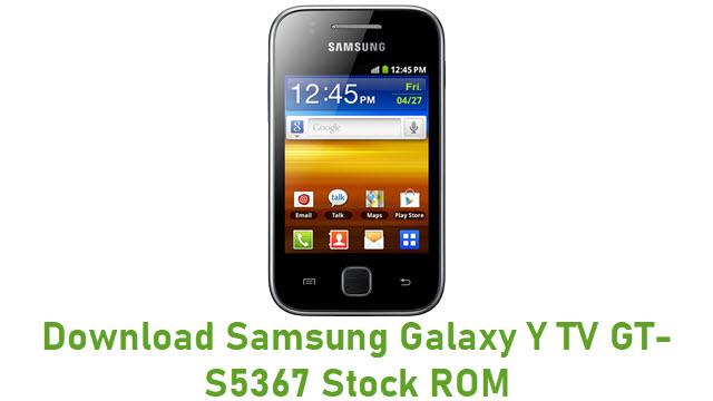 Download Samsung Galaxy Y TV GT-S5367 Stock ROM