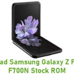 Samsung Galaxy Z Flip SM-F700N Stock ROM