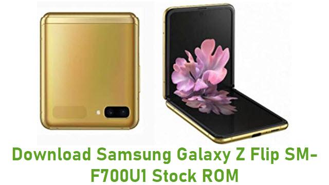 Download Samsung Galaxy Z Flip SM-F700U1 Stock ROM