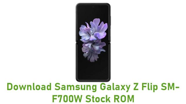 Download Samsung Galaxy Z Flip SM-F700W Stock ROM