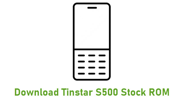 Download Tinstar S500 Stock ROM