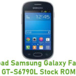 Samsung Galaxy Fame Lite GT-S6790L Stock ROM