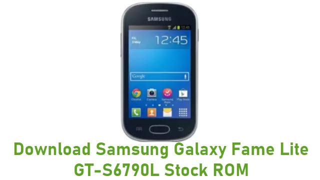 Samsung Galaxy Fame Lite GT-S6790L Stock ROM