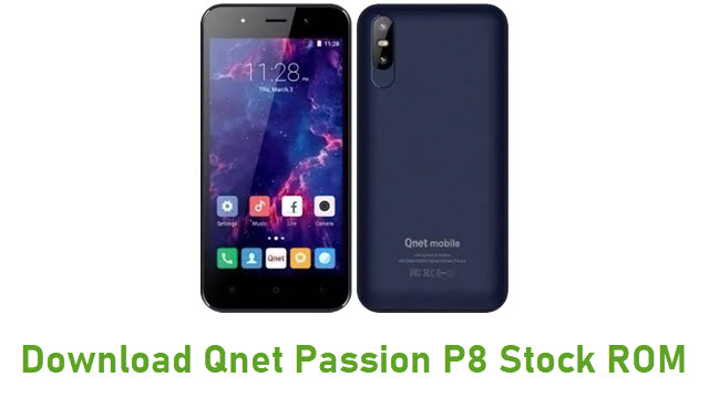 Download Qnet Passion P8 Stock ROM
