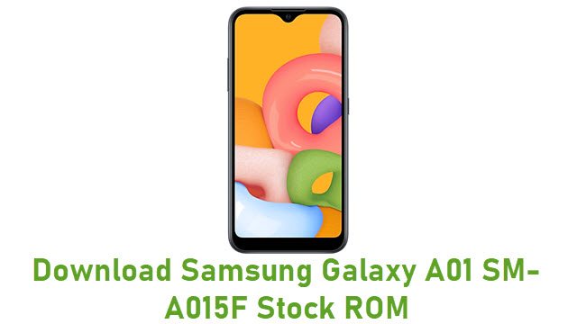 Download Samsung Galaxy A01 SM-A015F Stock ROM
