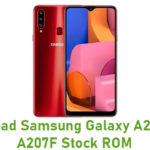 Samsung Galaxy A20s SM-A207F Stock ROM