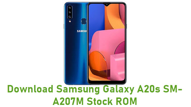 Download Samsung Galaxy A20s SM-A207M Stock ROM