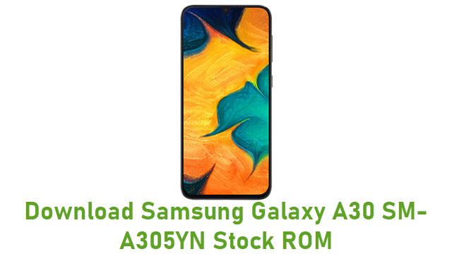 Download Samsung Galaxy A30 SM-A305YN Stock ROM