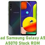 Samsung Galaxy A50s SM-A5070 Stock ROM