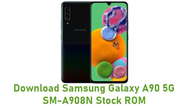 Download Samsung Galaxy A90 5G SM-A908N Stock ROM