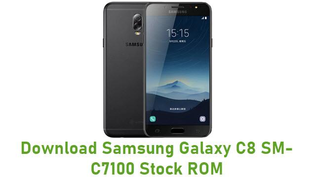 Download Samsung Galaxy C8 SM-C7100 Stock ROM