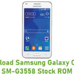 Samsung Galaxy Core 2 SM-G3558 Stock ROM