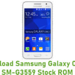 Samsung Galaxy Core 2 SM-G3559 Stock ROM