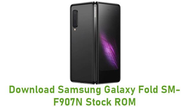Download Samsung Galaxy Fold SM-F907N Stock ROM