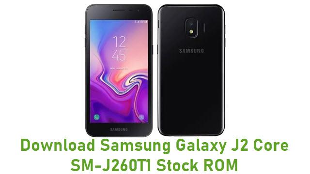 Download Samsung Galaxy J2 Core SM-J260T1 Stock ROM