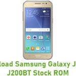 Samsung Galaxy J2 SM-J200BT Stock ROM
