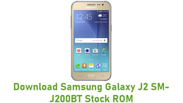 Download Samsung Galaxy J2 SM-J200BT Stock ROM