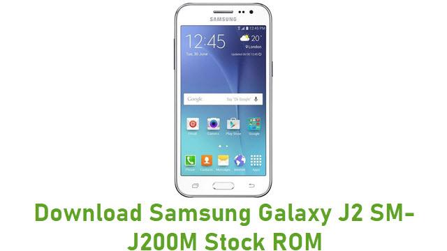 Download Samsung Galaxy J2 SM-J200M Stock ROM