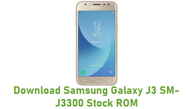 Download Samsung Galaxy J3 SM-J3300 Stock ROM
