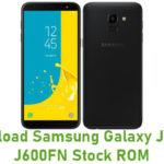 Download Samsung Galaxy J6 SM-J600FN Stock ROM