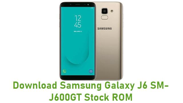 Download Samsung Galaxy J6 SM-J600GT Stock ROM