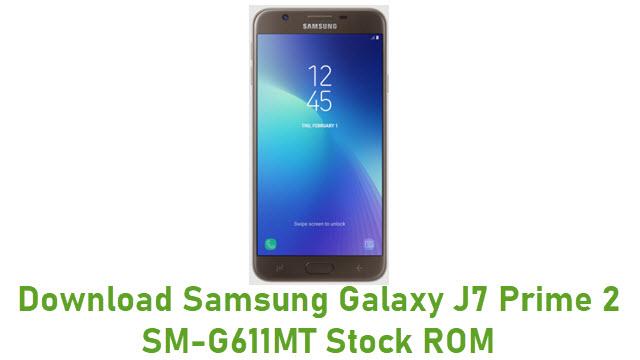 Download Samsung Galaxy J7 Prime 2 SM-G611MT Stock ROM