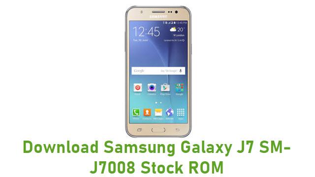 Download Samsung Galaxy J7 SM-J7008 Stock ROM