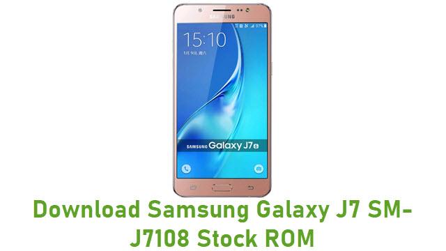 Download Samsung Galaxy J7 SM-J7108 Stock ROM