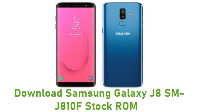 Download Samsung Galaxy J8 SM-J810F Stock ROM