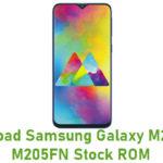 Samsung Galaxy M20 SM-M205FN Stock ROM