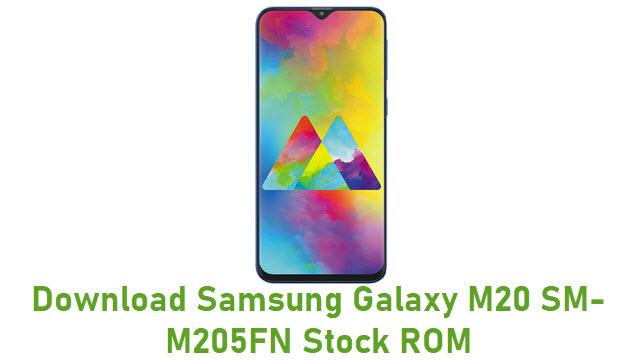 Download Samsung Galaxy M20 SM-M205FN Stock ROM