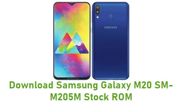 Download Samsung Galaxy M20 SM-M205M Stock ROM